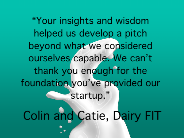 Ag TechStartupDairy FIT selected as finalist at #tff