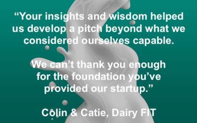 AgTech Startup Dairy FIT selected finalist at #tff